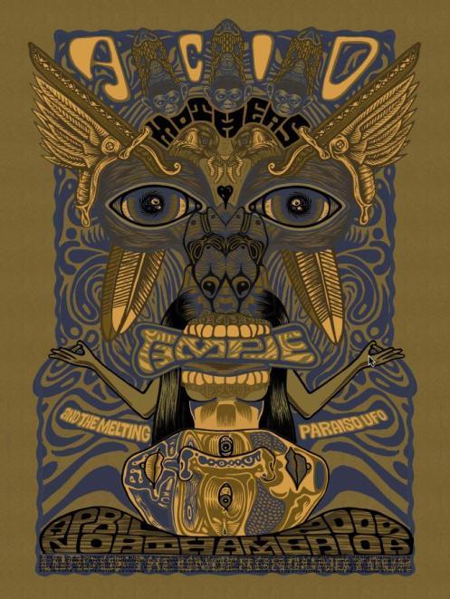 Acid Mothers Temple Tour Poster