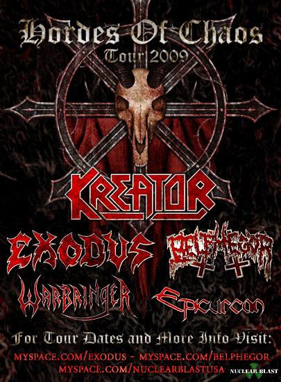 Hordes Of Chaos Tour